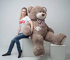 М'який плюшевий ведмедик із латками 2 метри