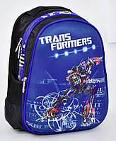 Школьный рюкзак 1, 2, 3 класс для мальчика. Портфель ранец ортопедический полу каркасный Трансформеры Прайм