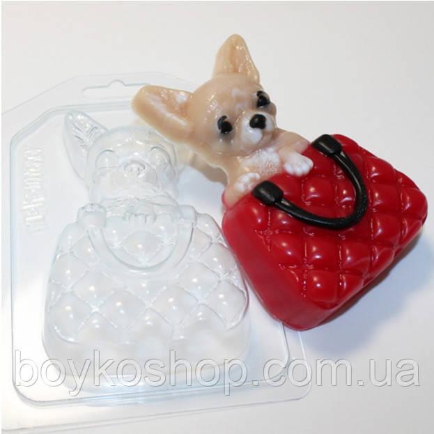 Форма для мыла пластик Чухуахуа