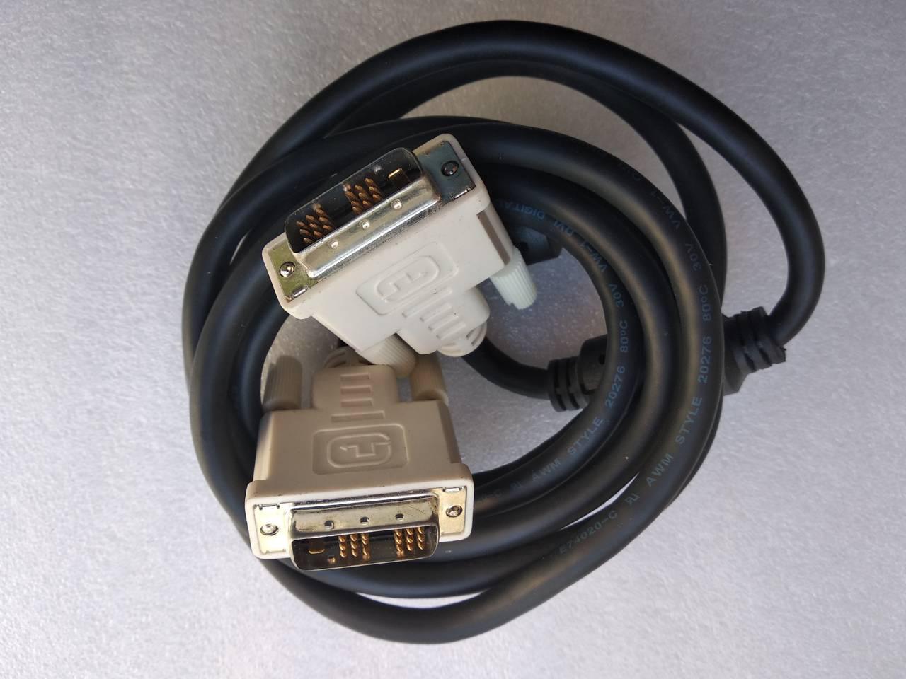 Кабель DVI-DVI провод шнур для монитора