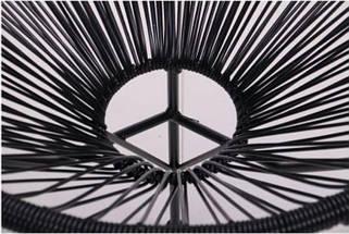 Стул Acapulco черный, ротанг черный, фото 3