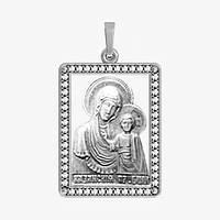 Ладанка серебряная Богородица ЛП-9