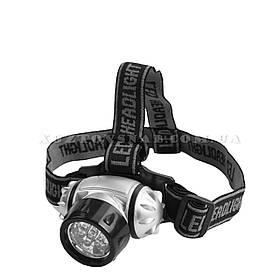 Фонарь налобний 1-3-7-LED 50 лм «Tolsen»