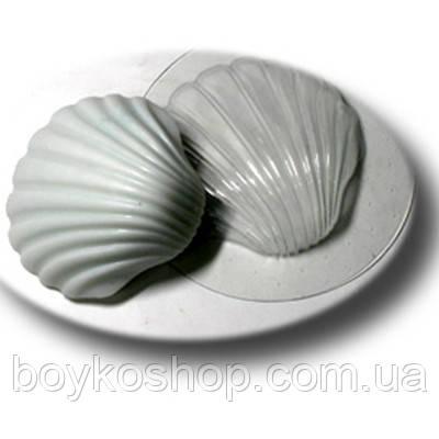 Пластиковая форма для мыла Ракушка