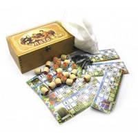 Настольная игра Лото в деревянной коробке W9091