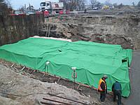 Тенты из ПВХ ткани для строительства, укрытия, обогрева бетона
