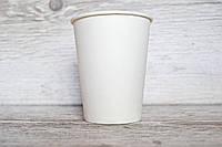 Бумажные стаканы Белые 300мл 50шт.уп (1ящ/25уп/1250шт) (Кр80) Ст