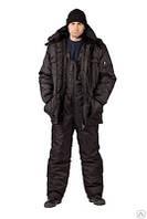 Костюм охранника зимний полукомбинезон с курткой
