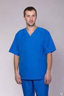 Костюм хирургический мужской синий