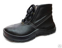 """Ботинки рабочие юфтевые с мягким кантом (модель типа """"Лидер"""")"""