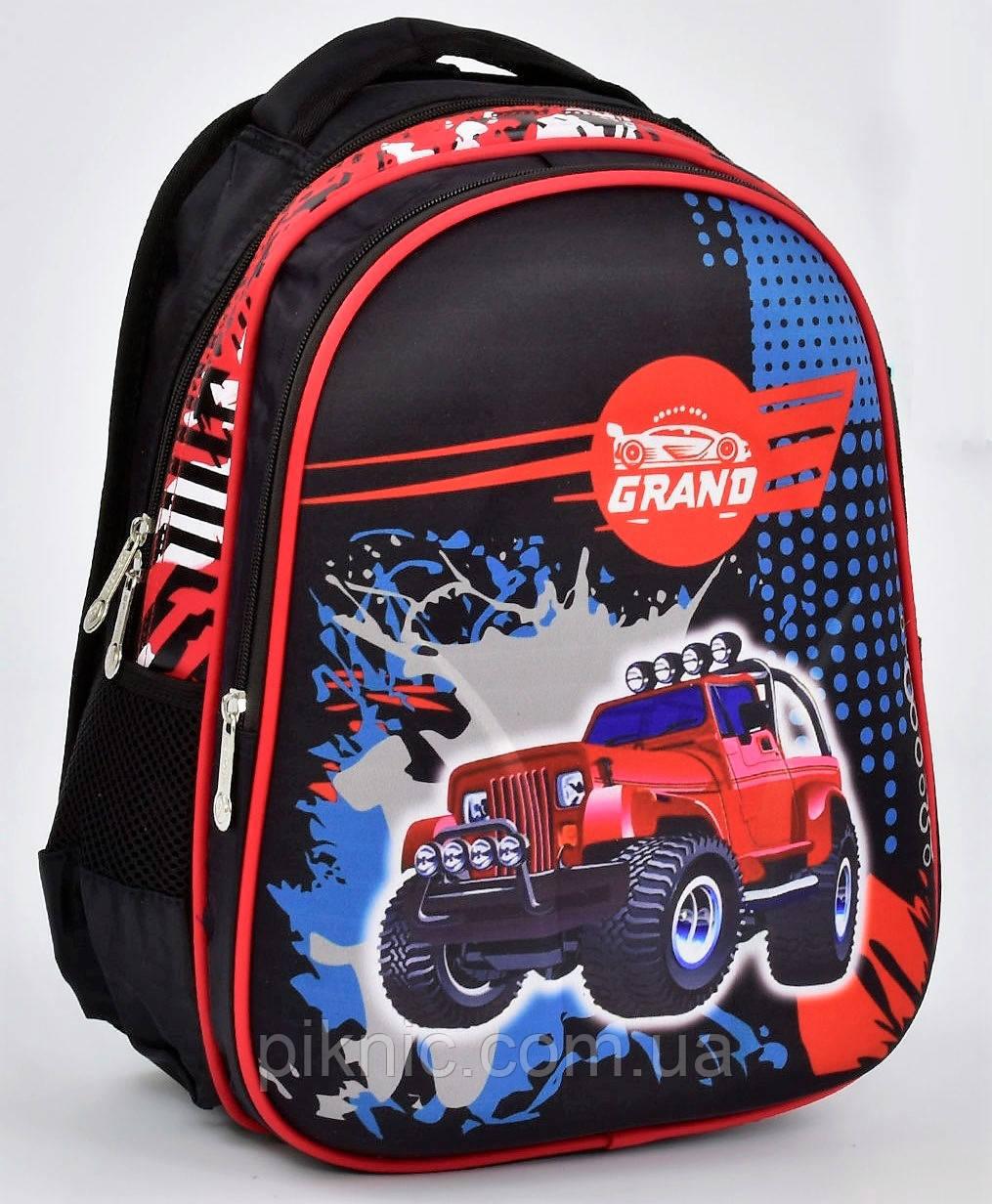 f582531cf959 Школьный рюкзак 1, 2, 3 класс для мальчика. Портфель ранец ортопедический  полу каркасный