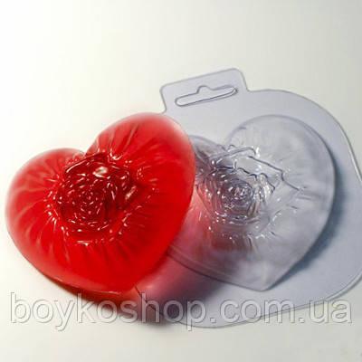 Форма для мыла Нежное сердце
