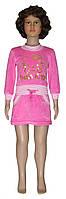 Платье велюровое для девочки 0328-1 Китти