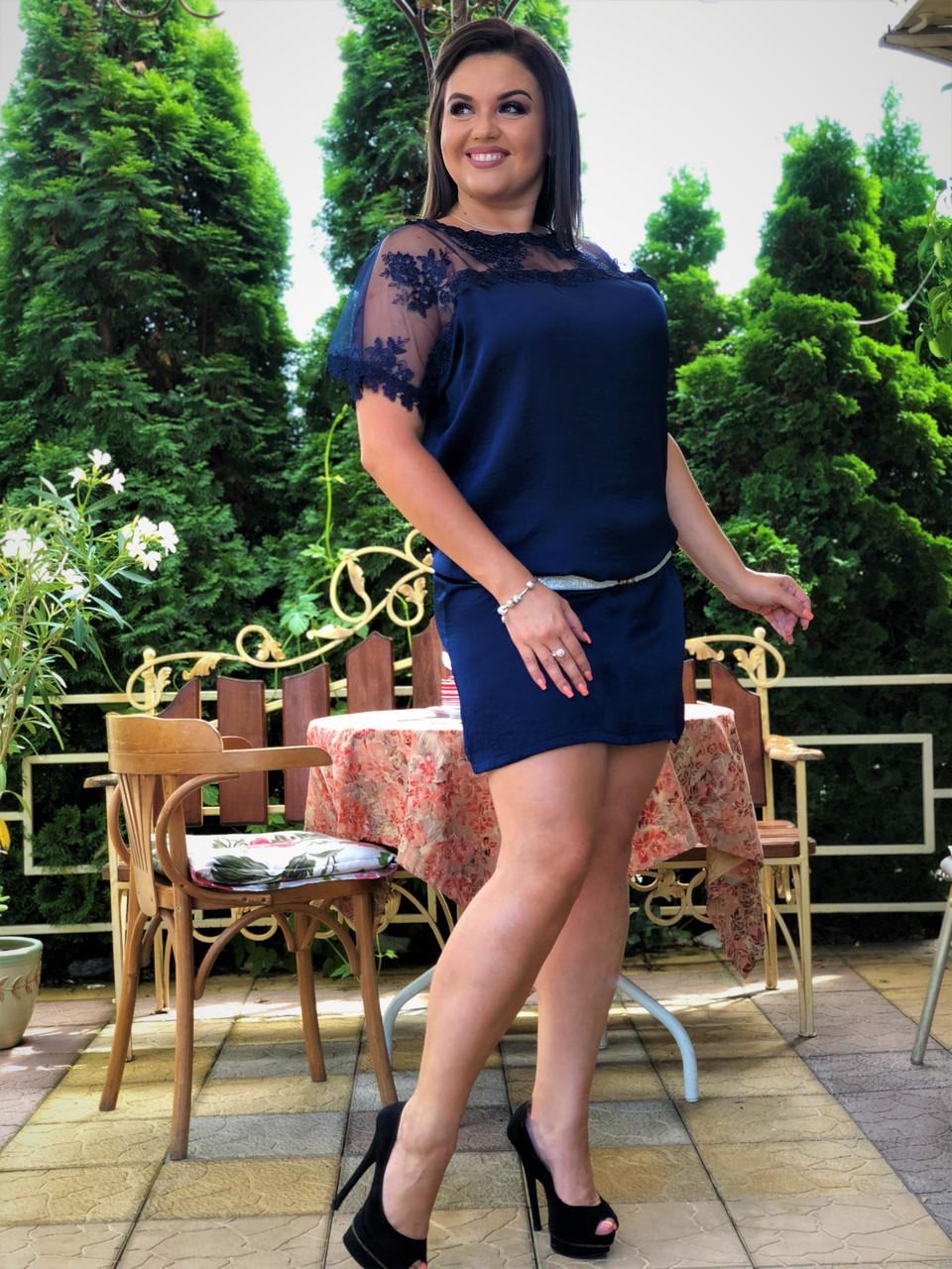 Коктейльное платье 03801