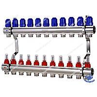 Коллекторный блок с расходомерами KOER KR.1110-11 1 x11 WAYS