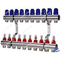 Коллекторный блок с расходомерами KOER KR.1110-10 1 x10 WAYS