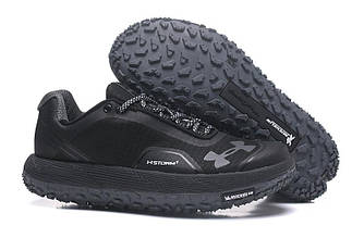 Кроссовки Under Armour Fat Tire Low Michelin Black Черные мужские 1262238-001