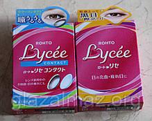 Rohto Lycee увлажняющие капли от покраснений и синдрома сухого глаза с витаминами B6, B12 и цинком, фото 3