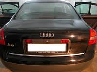 Лип Спойлер кромки багажника (Сабля) Audi A6 С5
