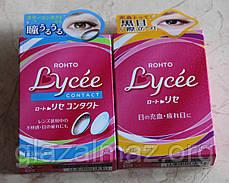 Rohto Lycee Contact мягкие глазные капли при ношении любых контактных линз, фото 3