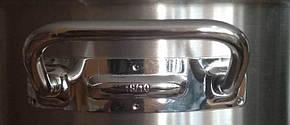 Кастрюля из нержавейки для индукционной плиты Helios 14,5 л 7725Т, фото 2