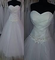 """Свадебное платье """"Рас-04"""" (эконом вариант) РАСПРОДАЖА"""
