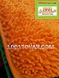 """Коврик из микрофибры """"Макароны или дреды"""" для широкого применения, 80х50 см., оранжевый, фото 3"""