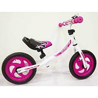 Беговел BALANCE TILLY Eclipse T-21254 Crimson, Беговел для девочки, Металлический велобег детский