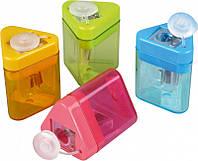 Точилка KUM Mini-Tri K1 Pop пластиковая с контейнером