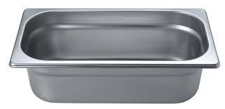Гастрономический контейнер из нержавеющей стали Helios GN1/3-100 3,5л