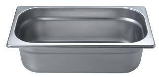 Гастрономический контейнер из нержавеющей стали Helios GN1/3-100 3,5л, фото 2