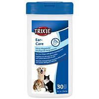 Trixe ТХ-29416 салфетки очищающие для ушей  30 шт