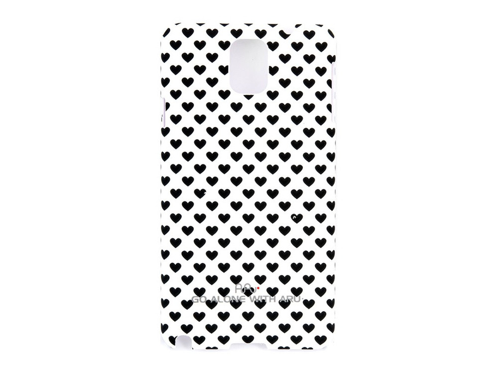 Чехол ARU для Samsung Galaxy Note 3 Hearts White