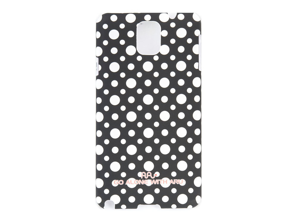 Чехол ARU для Samsung Galaxy Note 3 Cutie Dots Black