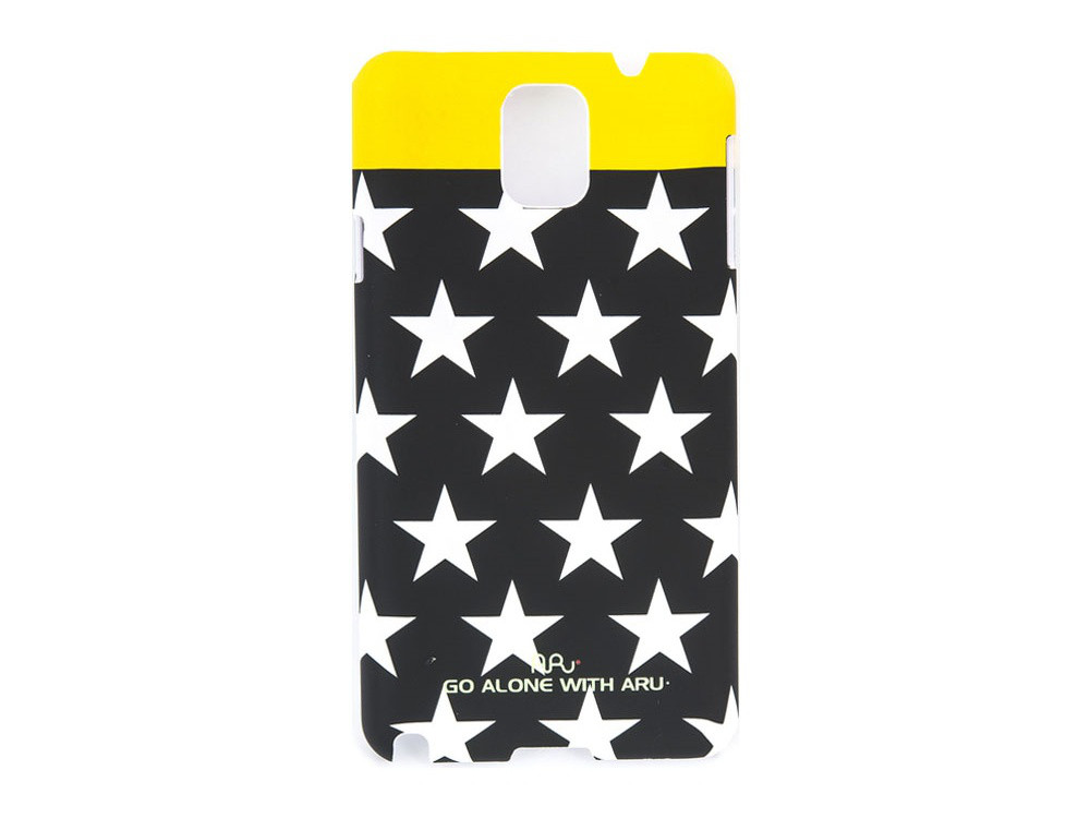 Чехол ARU для Samsung Galaxy Note 3 Mix&Match Stars Black