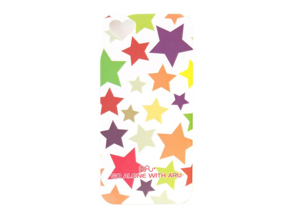 Чехол ARU для iPhone 5/5S/5SE Mixed Stars White