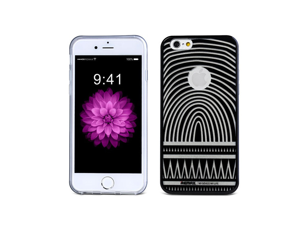 Чехол Remax для iPhone 6/6S Engarved MaxMara black