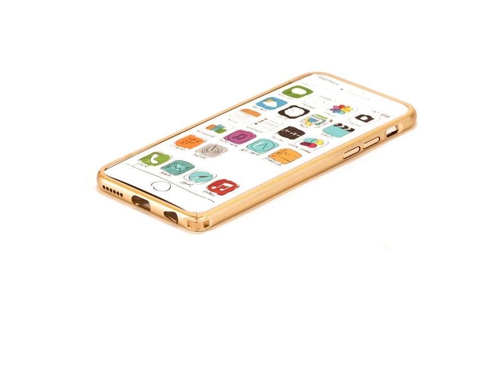 Бампер Remax для iPhone 6/6S Halo Golden
