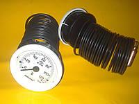 Термометр с капилляром 3 метра / Ф - 52 диаметр / 0-120 град. PAKKENS Турция
