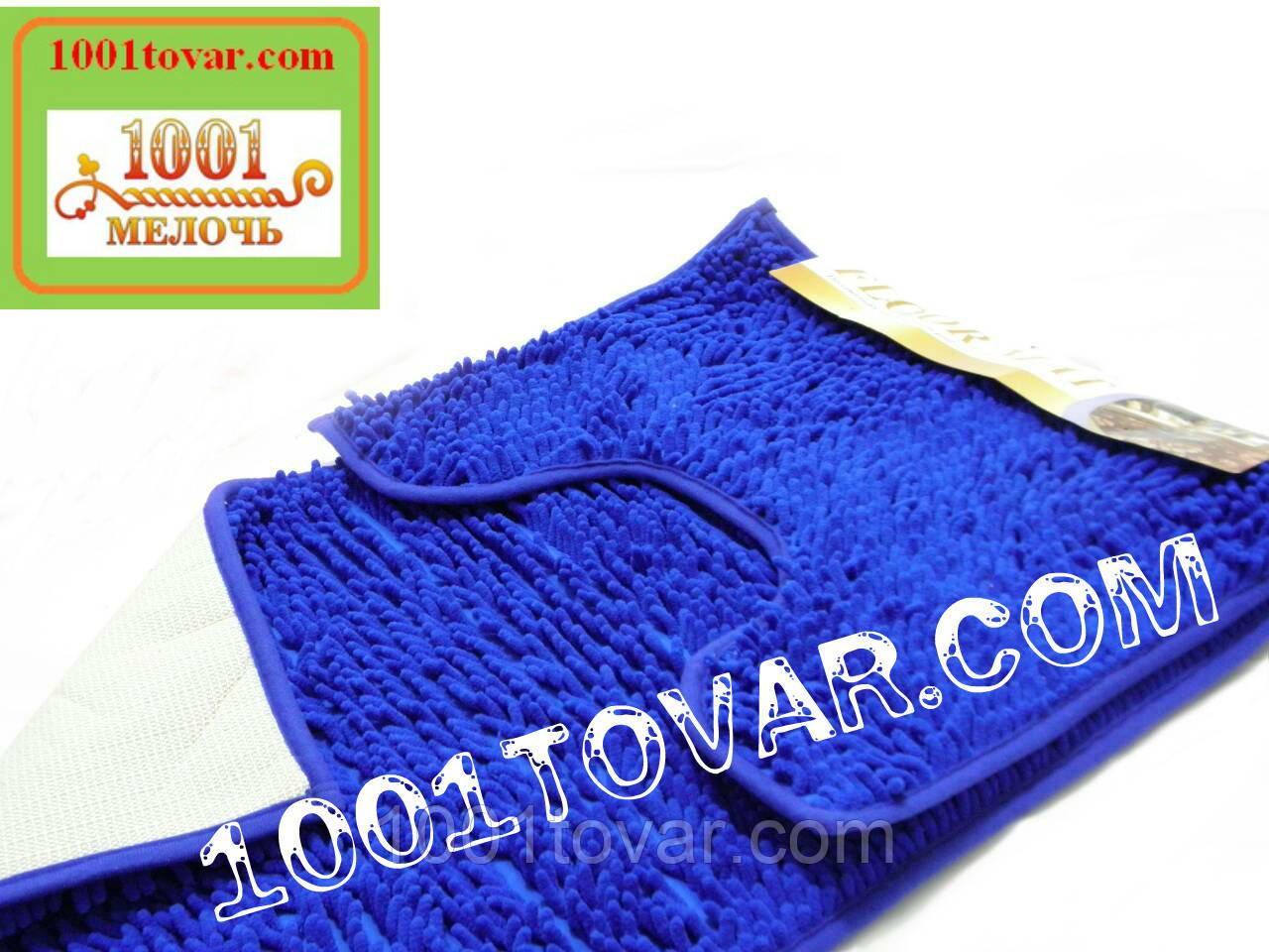 """Набор из 2-х ковриков из микрофибры """"Макароны или дреды"""" для широкого применения, 80х50 см. и 40х50 см."""
