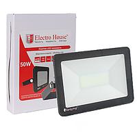 Светодиодный прожектор LED 50W IP65 (EH-LP-208) от торговой марки ElectroHouse
