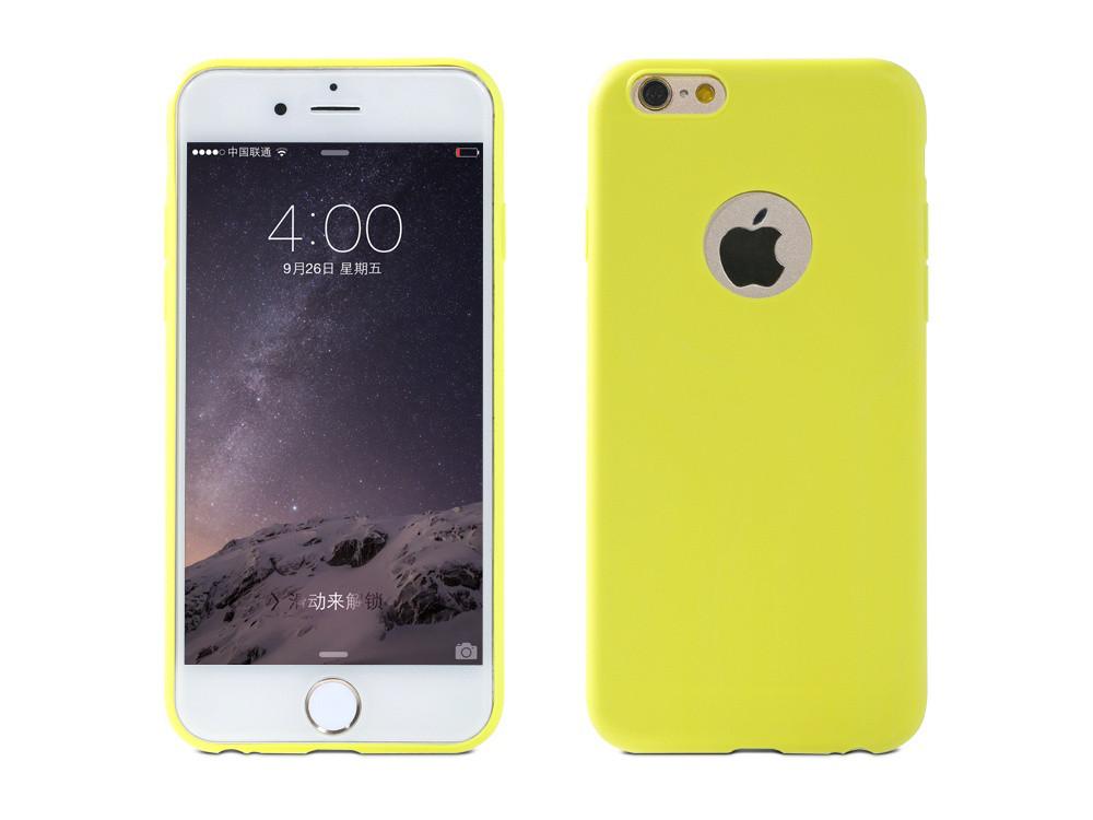 Чехол Remax для iPhone 6/6S Jelly Upgrade Yellow