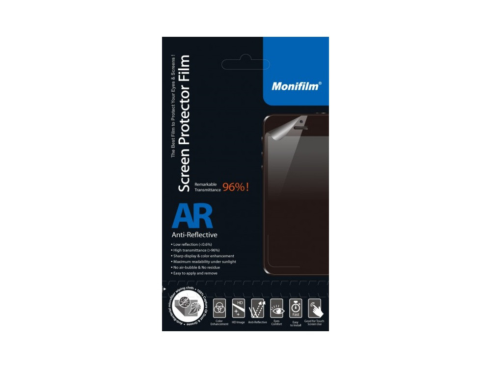 Защитная пленка Monifilm для Sony  Xperia V, AR - глянцевая