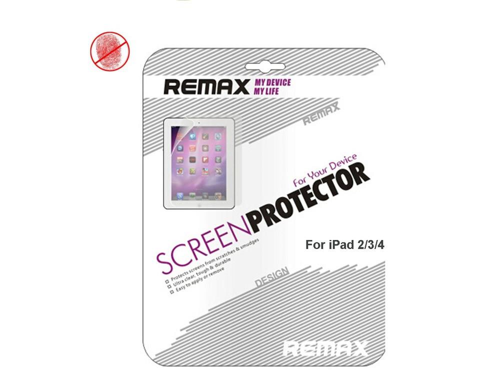 Защитная пленка Remax для Apple iPad 2, New iPad 3, iPad 4, - глянцева