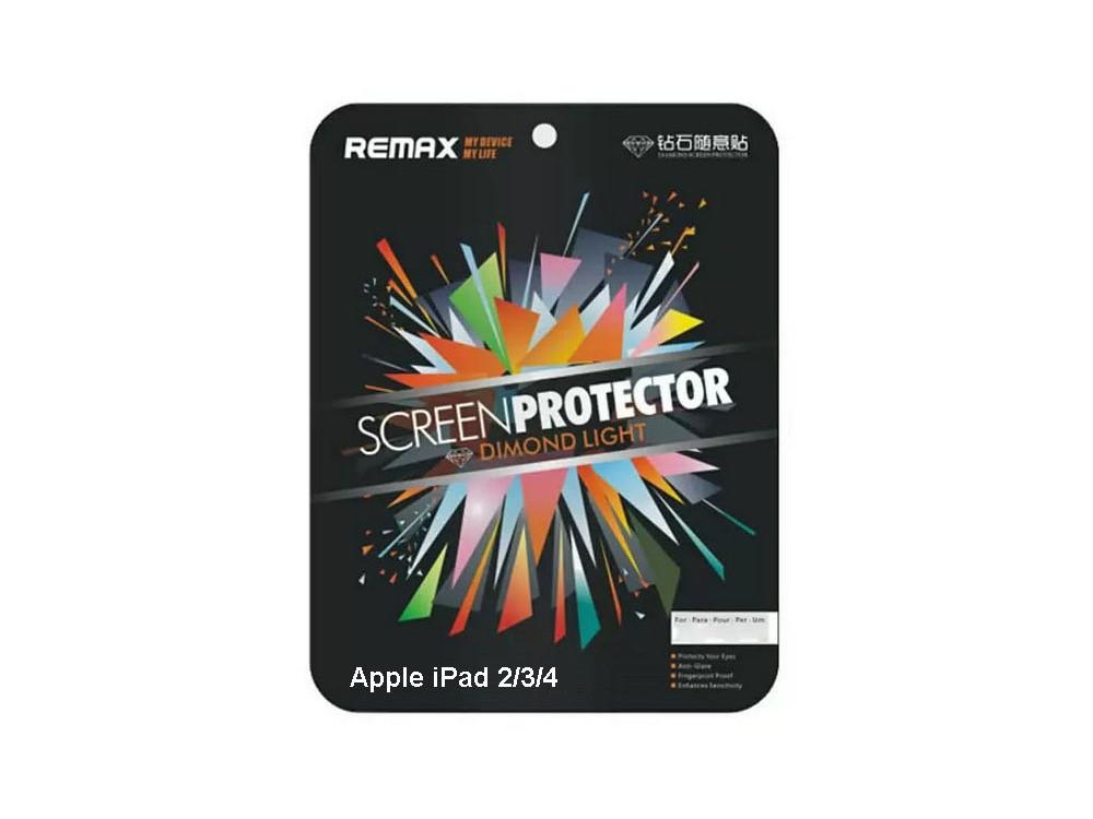 Защитная пленка Remax для Apple iPad 2, New iPad 3, iPad 4, бриллианто