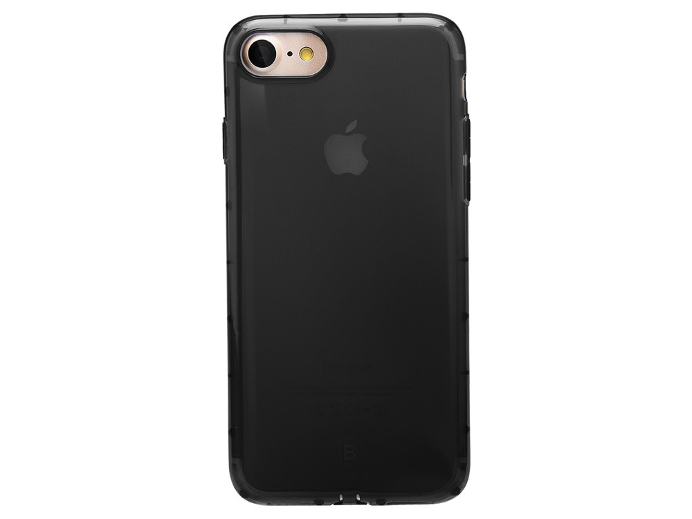 Чехол Baseus для iPhone 8/7 Simple Anti-Shock Black