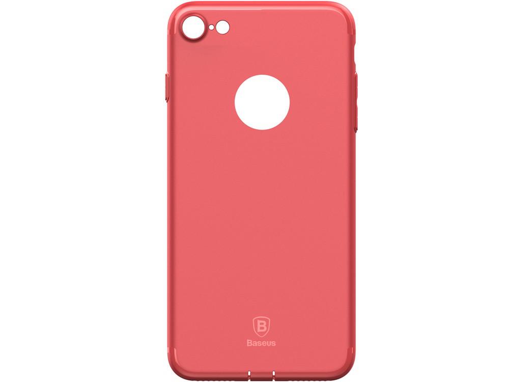 Чехол Baseus для iPhone 8/7 Simple Solid Red