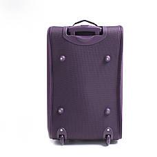 Сумка дорожная с  колёсами MY TRAVEL формованная пурпурная 54х32х35 см  ксТ400-22ф, фото 3