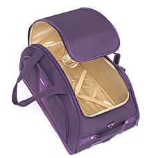 Сумка на колёсах дорожная пурпурная MY TRAVEL формованная, 50х29х32 см  ксТ400-20ф, фото 2