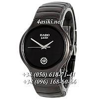 Часы Rado Jubile Diamonds Ceramic Black-Silver Pl